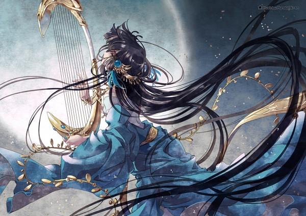 Tags: Anime, Gungun, RG Veda, Kendappa-ou, Harp, Coin (Fashion), Fanart, Pixiv