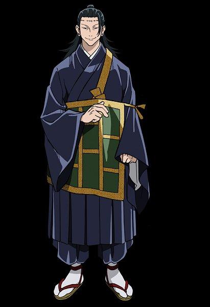 Tags: Anime, Hiramatsu Tadashi, MAPPA, Jujutsu Kaisen, Getou Suguru, Kenjaku, Monk, Official Art