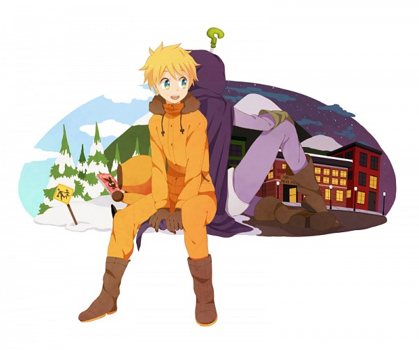 Tags: Anime, M1523m, South Park, Mysterion, Kenneth McCormick, Pixiv, Fanart