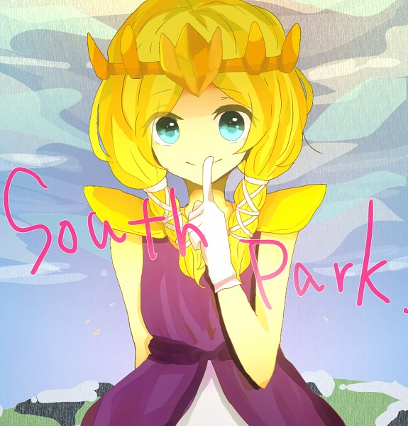 Tags: Anime, Pixiv Id 4915896, South Park, South Park: The Stick Of Truth, Kenneth McCormick, Princess Zelda (Cosplay), Fanart