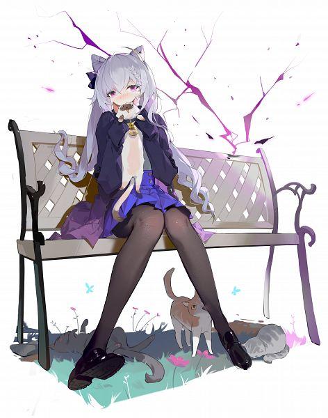 Tags: Anime, Crimson K Night, Genshin Impact, Keqing, Fanart From Pixiv, Pixiv, Fanart