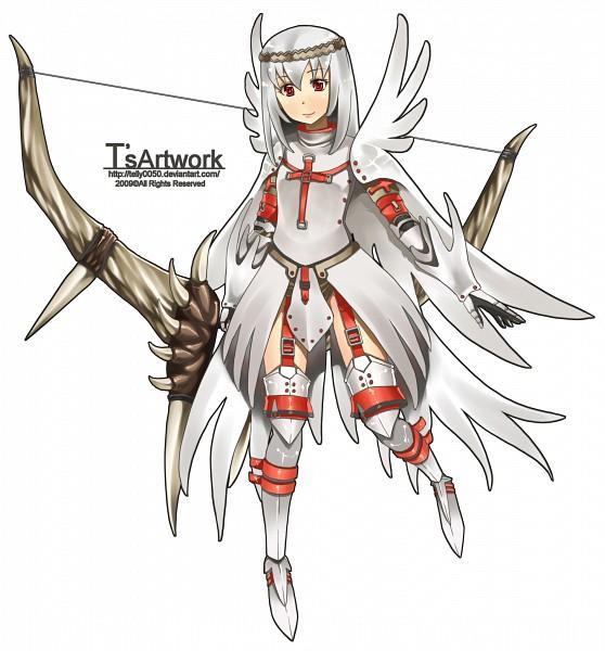 Tags: Anime, Monster Hunter Frontier, Monster Hunter Series, Khezu (Armor)