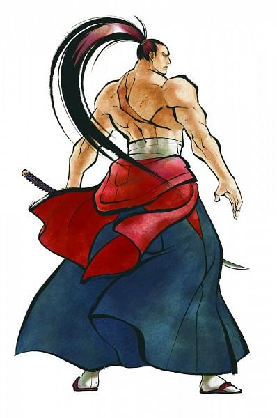 Kibagami Genjuro - Samurai Spirits