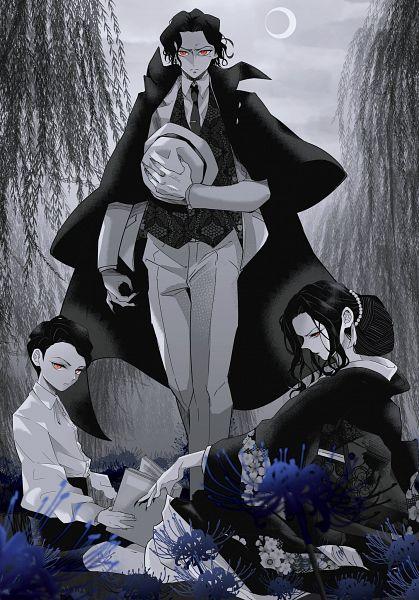Tags: Anime, Pixiv Id 4739473, Kimetsu no Yaiba, Kibutsuji Muzan, Disguise, Fanart From Pixiv, Pixiv, Fanart