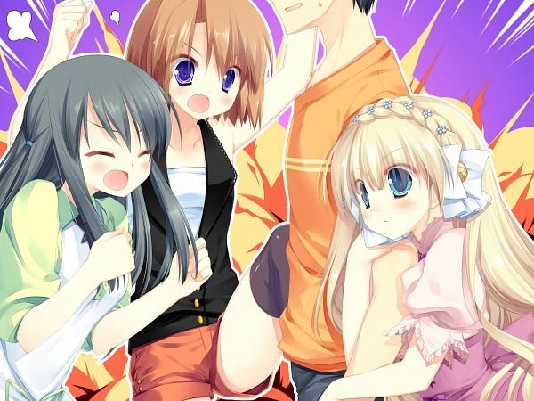 Tags: Anime, Miyasu Risa, Alcot Honey Comb, Kicking Horse Rhapsody, Sota Yoshii, Shino Tsuji, Orina Nobara, Seritsumu Hijiri, CG Art