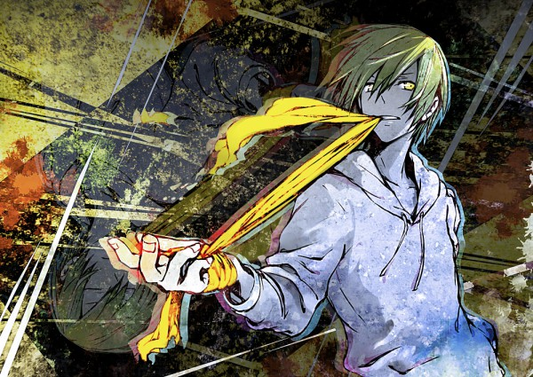 Tags: Anime, ria (DooDleBox), DURARARA!!, Kida Masaomi, Pixiv, Fanart From Pixiv, Fanart