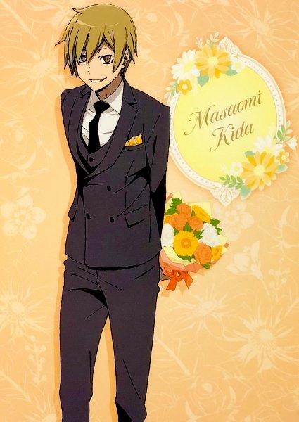 Tags: Anime, Shuka (Studio), DURARARA!!, Kida Masaomi, Official Art