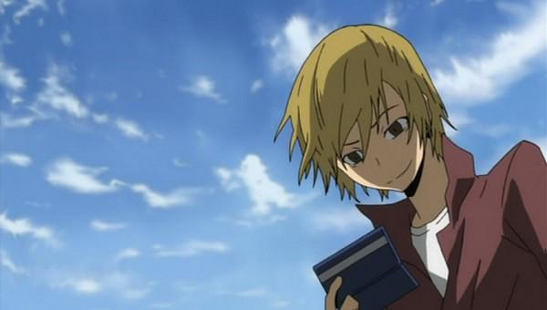 Tags: Anime, Brains Base (Studio), DURARARA!!, Kida Masaomi, Screenshot