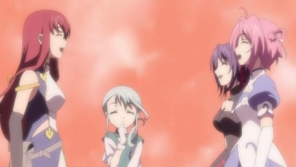 Tags: Anime, Kiddy Girl-and, Kiddy Grade, Q-feuille, Ascoeur, Lumière, Éclair (Kiddy Grade), Screenshot