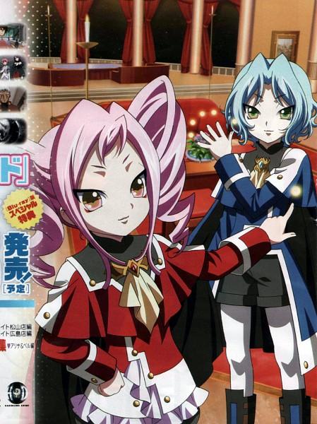 Tags: Anime, Kiddy Girl-and, Kiddy Grade, Letuchaia, Pauki