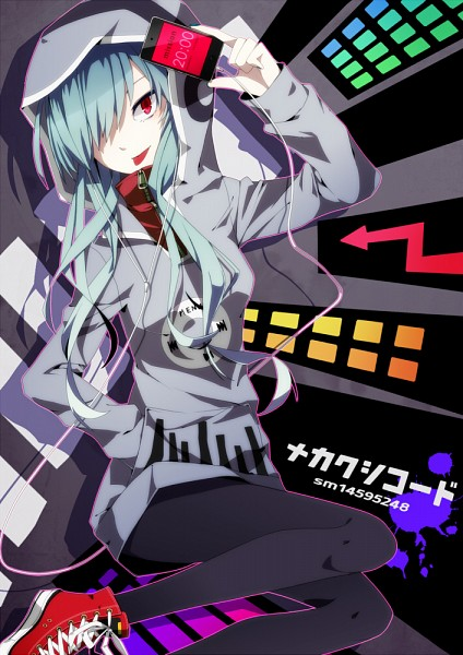 Tags: Anime, Fluorocarbon, Kagerou Project, Kido Tsubomi, iPhone, Mobile Wallpaper, Pixiv