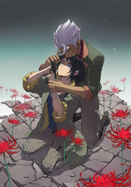 Tags: Anime, Liusang, Kidou Senshi Gundam: Tekketsu no Orphans, Orga Itsuka, Mikazuki Augus, Pixiv, Mobile Suit Gundam: Iron-blooded Orphans