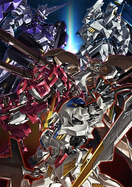 Tags: Anime, Paintedmike, Kidou Senshi Gundam: Tekketsu no Orphans, ASW-G-08 Gundam Barbatos Lupus Rex, ASW-G-08 Gundam Barbatos, ASW-G-66 Gundam Kimaris Vidar, ASW-G-11 Gundam Gusion Rebake, ASW-G-64 Gundam Flauros, ASW-G-01 Gundam Bael, Gundams, Mobile Suit Gundam: Iron-blooded Orphans