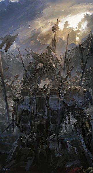 Tags: Anime, Stu Dts, Kidou Senshi Gundam: Tekketsu no Orphans, EB-08jjc Reginlaze Julia, ASW-G-08 Gundam Barbatos Lupus Rex, Pixiv, Fanart, Fanart From Pixiv, Mobile Suit Gundam: Iron-blooded Orphans