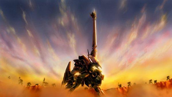 Tags: Anime, Bandai Namco Entertainment, Kidou Senshi Gundam: Tekketsu no Orphans, SD Gundam G Generation, ASW-G-08 Gundam Barbatos Lupus Rex, ASW-G-08 Gundam Barbatos, EB-08jjc Reginlaze Julia, Wallpaper, Gundams, Mobile Suit Gundam: Iron-blooded Orphans