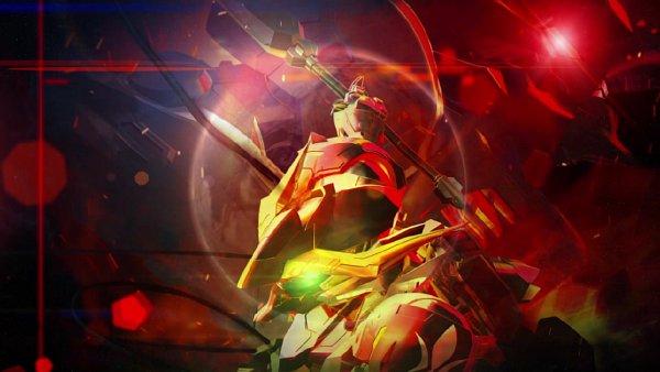 Tags: Anime, Bandai Namco Entertainment, Kidou Senshi Gundam: Tekketsu no Orphans, SD Gundam G Generation, ASW-G-08 Gundam Barbatos Lupus, ASW-G-08 Gundam Barbatos Lupus Rex, Screenshot, Wallpaper, Gundams, Mobile Suit Gundam: Iron-blooded Orphans