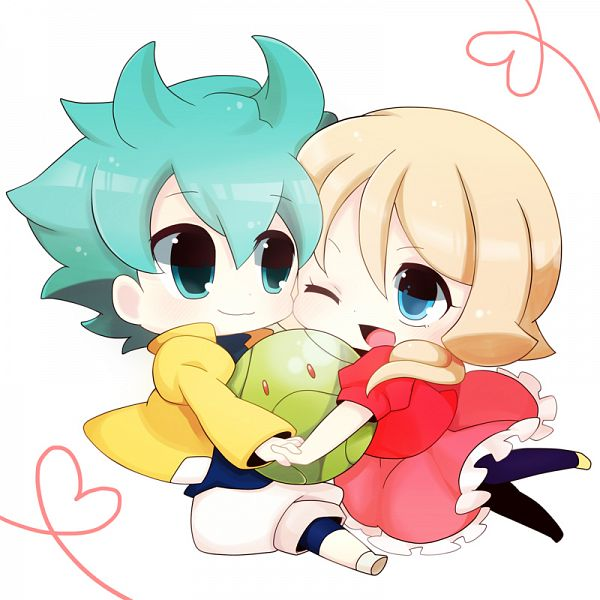 Tags: Anime, Pixiv Id 723794, Kidou Senshi Gundam AGE, Haro, Flit Asuno, Emily Amonde, Mobile Suit Gundam Age