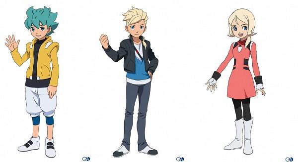 Tags: Anime, Kidou Senshi Gundam AGE, Emily Amonde, Gundam Age-1, Asemu Asuno, Flit Asuno, Gundam Age-2, Artist Request, Mobile Suit Gundam Age