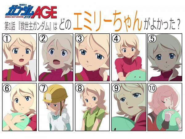 Tags: Anime, Kidou Senshi Gundam AGE, Emily Amonde, Mobile Suit Gundam Age