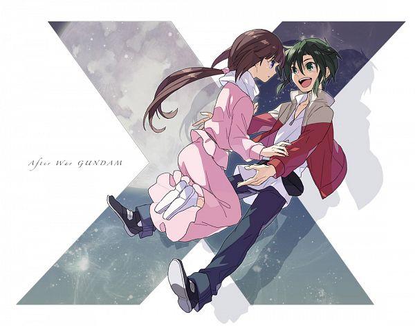 Tags: Anime, Ebira, Kidou Shinseiki Gundam X, Tiffa Adill, Garrod Ran, Fanart From Pixiv, Pixiv, Fanart, After War Gundam X