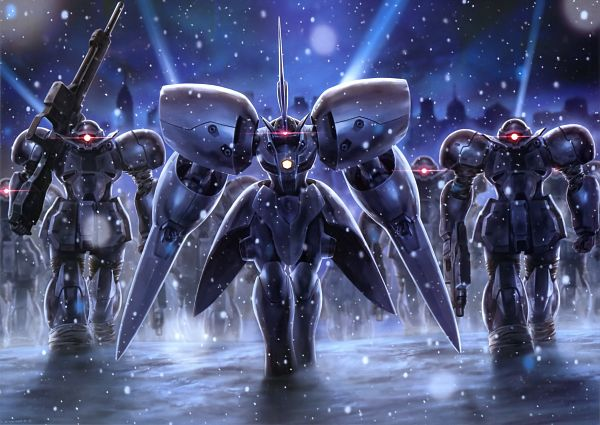 Tags: Anime, Kidou Shinseiki Gundam X, Magazine (Source), Scan, After War Gundam X