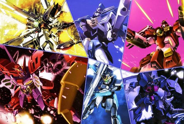 Tags: Anime, Kidou Shinseiki Gundam X, GX-9901-DX Gundam Double X, Wallpaper, After War Gundam X