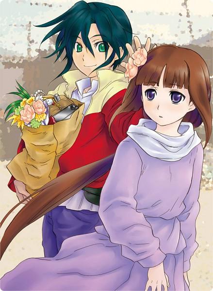 Tags: Anime, Ran-Neko, Kidou Shinseiki Gundam X, Tiffa Adill, Garrod Ran, Pixiv, After War Gundam X