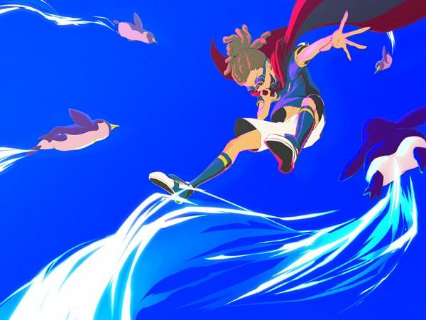 Tags: Anime, Joker (Artist), Inazuma Eleven, Kidou Yuuto, Fanart From Pixiv, Fanart, Pixiv, Yuuto Kidou