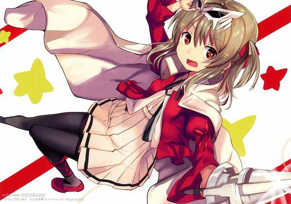 Tags: Anime, Yoshizawa Megane, Lance N' Masques, Kidouin Makio, End Cards, Lance N' Masques - End Cards, Scan