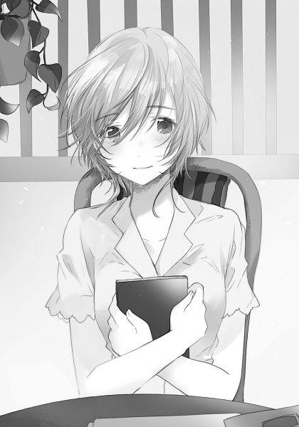 Tags: Anime, Flyco_, Jaku Chara Tomozaki-kun, Kikuchi Fuuka, Novel Illustration, Official Art