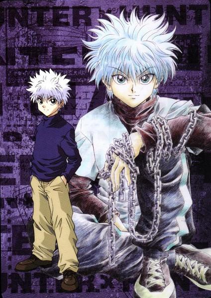 Tags: Anime, Togashi Yoshihiro, Hunter x Hunter, Killua Zoldyck, Mobile Wallpaper, Official Art