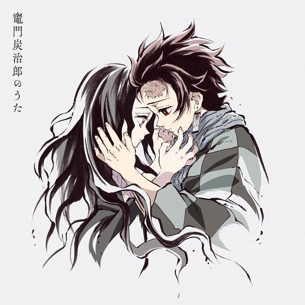 Tags: Anime, Matsushima Akira, ufotable, Kimetsu no Yaiba, Kamado Nezuko, Kamado Tanjirou, Official Art, CD (Source), Twitter, Demon Slayer: Kimetsu No Yaiba