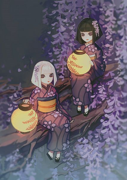 Tags: Anime, Senryoko, Kimetsu no Yaiba, Ubuyashiki Kanata, Ubuyashiki Kiriya, Fanart From Pixiv, Pixiv, Fanart