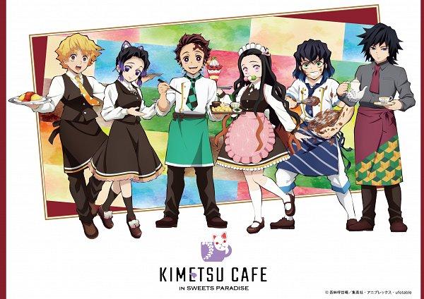 Tags: Anime, ufotable, Kimetsu no Yaiba, Kochou Shinobu, Kamado Tanjirou, Tomioka Giyuu, Kamado Nezuko, Hashibira Inosuke, Agatsuma Zenitsu, Shrimp, Parfait, Whisk, Chef Uniform, Demon Slayer: Kimetsu No Yaiba