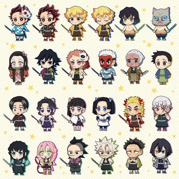 Tags: Anime, Djmn C, Kimetsu no Yaiba, Rengoku Kyoujurou, Shinazugawa Genya, Kamado Tanjirou, Urokodaki Sakonji, Shoichi (Kimetsu No Yaiba), Hashibira Inosuke, Himejima Gyoumei, Kamado Nezuko, Uzui Tengen, Haganezuka Hotaru, Demon Slayer: Kimetsu No Yaiba