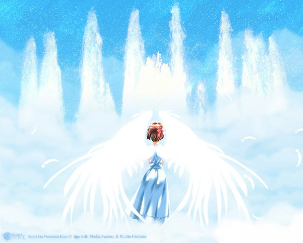 Tags: Anime, âge, Kimi ga Nozomu Eien, Suzumiya Haruka, Wallpaper