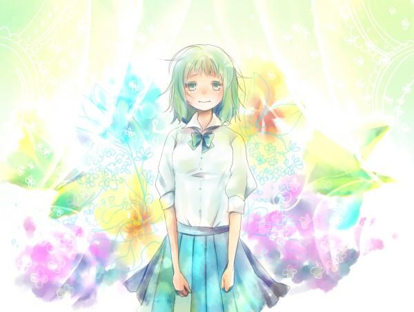 Tags: Anime, Hashimochi, VOCALOID, GUMI, Kimi ni Gomen ne, Sorry To You