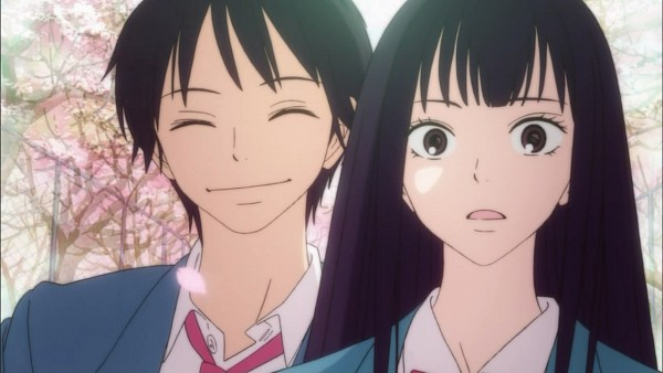 Tags: Anime, Kimi ni Todoke, Kazehaya Shouta, Kuronuma Sawako, Screenshot, From Me To You