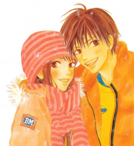 Tags: Anime, Shiina Karuho, J.C.STAFF, Kimi ni Todoke, Kuronuma Sawako, Kazehaya Shouta, Official Art, From Me To You