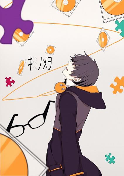 Tags: Anime, Nitaka, Soraru, Puzzle Piece, CD (Object), Mobile Wallpaper, Nico Nico Singer, Kimi no Me wo, Pixiv