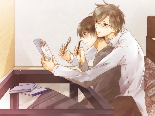 Tags: Anime, Tsukahara Kaname, Azuma Koichi, Teach, You And Me