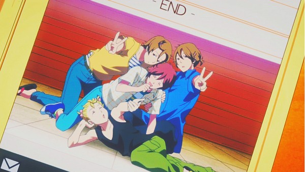 Tags: Anime, Kimi to Boku., Asaba Yuki, Tachibana Chizuru, Matsuoka Shun, Asaba Yuta, Message, Flip Flops, Screenshot, Facebook Cover, Wallpaper, Asaba Twins, You And Me