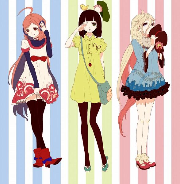 Tags: Anime, Abararack, VOCALOID, IA, Fan Character, SF-A2 miki, Kimi wa Inase na Girl, You're A Gallant Girl