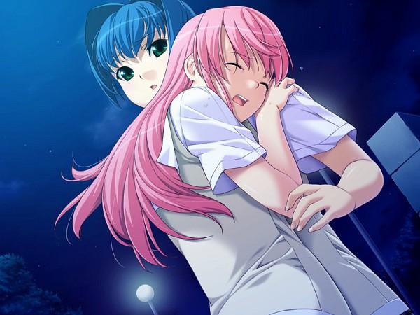 Tags: Anime, Front Wing, Kimihagu, Yuzuki Minami, Shiina Kasumi (Kimihagu), CG Art