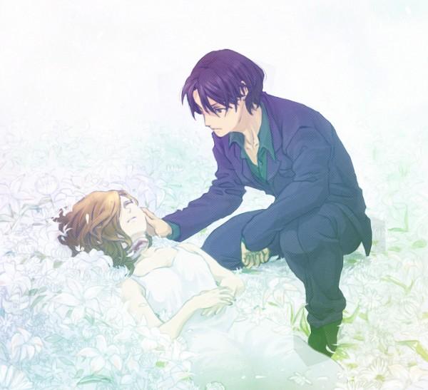 Tags: Anime, Pixiv Id 643860, Kindaichi Shounen no Jikenbo, Takatou Youichi, Yuzuki Raimu, Pixiv, Fanart, Kindaichi Case Files