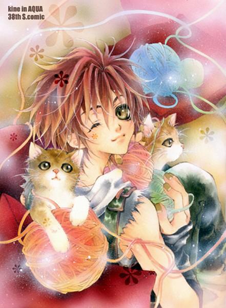 Tags: Anime, Kine In AQUA, Pixiv