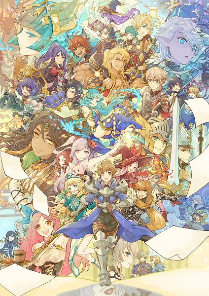 Tags: Anime, Pixiv Id 40283103, King's Raid, Ophelia (King's Raid), Lilia (King's Raid), Dimael, Laias (King's Raid), Pavel (King's Raid), Zafir, Kasel, Loman, Viska (King's Raid), Miruru (King's Raid)