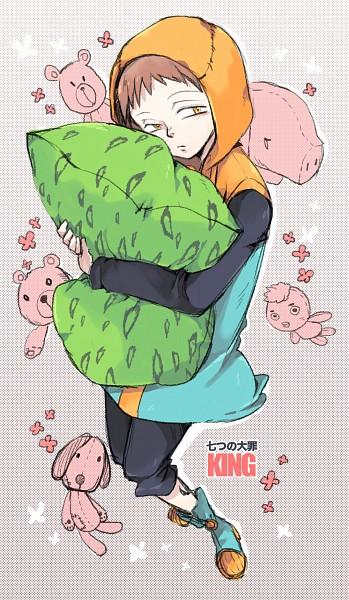 Tags: Anime, Pixiv Id 3705424, Nanatsu no Taizai (Suzuki Nakaba), King (Nanatsu no Taizai), Mobile Wallpaper