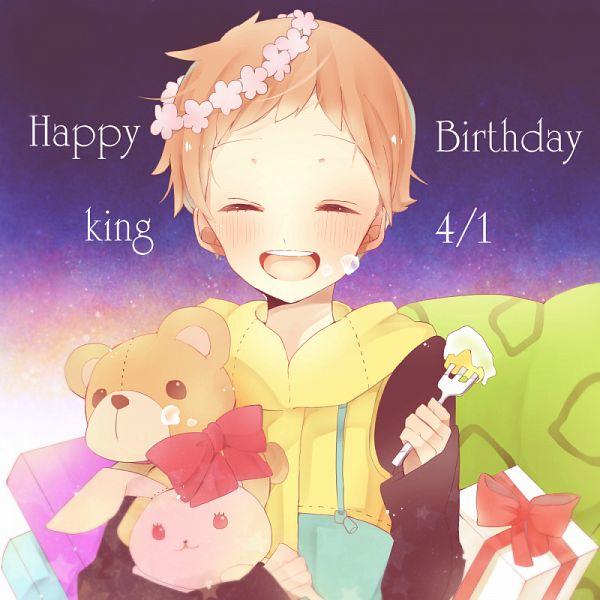 Tags: Anime, Pixiv Id 3232354, Nanatsu no Taizai (Suzuki Nakaba), King (Nanatsu no Taizai), PNG Conversion, Fanart