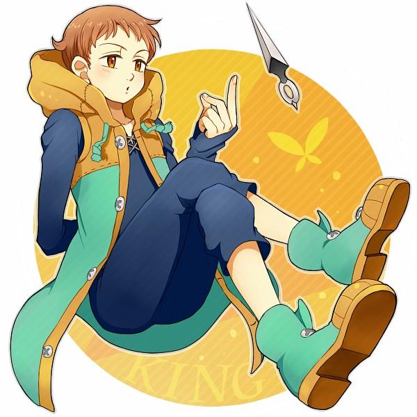 Tags: Anime, Pixiv Id 1040366, Nanatsu no Taizai (Suzuki Nakaba), King (Nanatsu no Taizai), Fanart, Pixiv